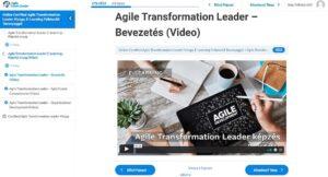 Agile Exam Center - Video anyagok könnyen követhető felépítéssel